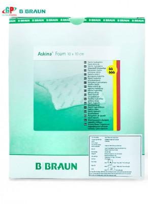 Askina Foam®  10 x 10 cm-Băng hút dịch dạng cao