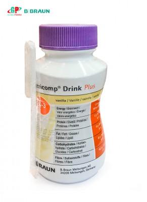 Sữa dinh dưỡng NUTRICOMP® DRINK PLUS VANILLA 200ML (VỊ Vani)
