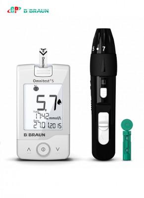 Máy đo đường huyết Omnitest 5 meter set mmol/L