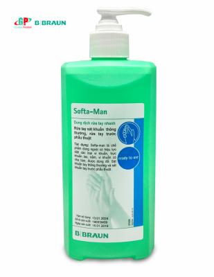 Nước rửa tay khô SOFTAMAN 500ml